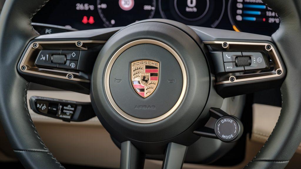 Een echte Porsche Taycan