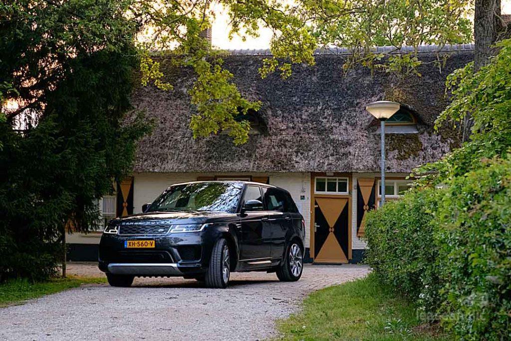 auto fotoshoot Range Rover P400e