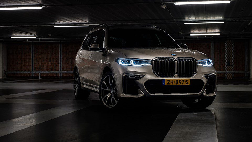 auto fotoshoot BMW X7