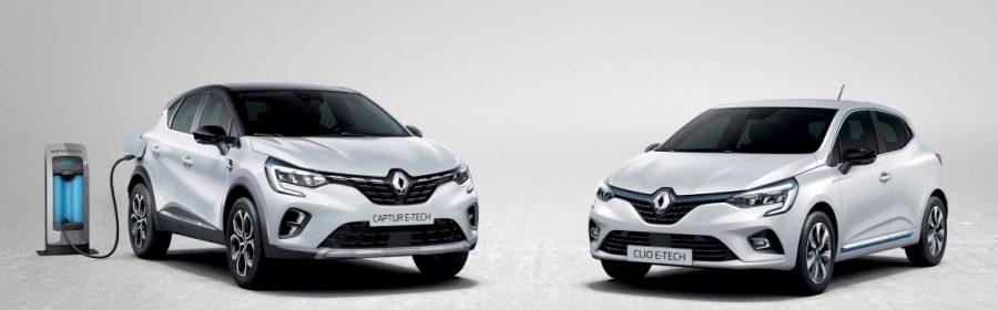 Renault Clio E-Tech Captur E-Tech 2020