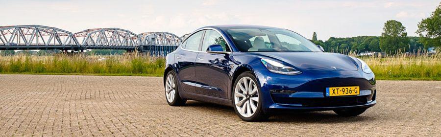 Tesla Model 3 kost excl btw elektrische auto