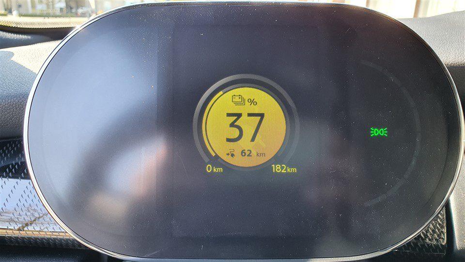 rijtest MINI electric 182 km actieradius