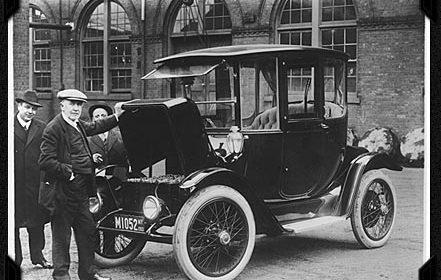 ontwikkeling elektrische auto