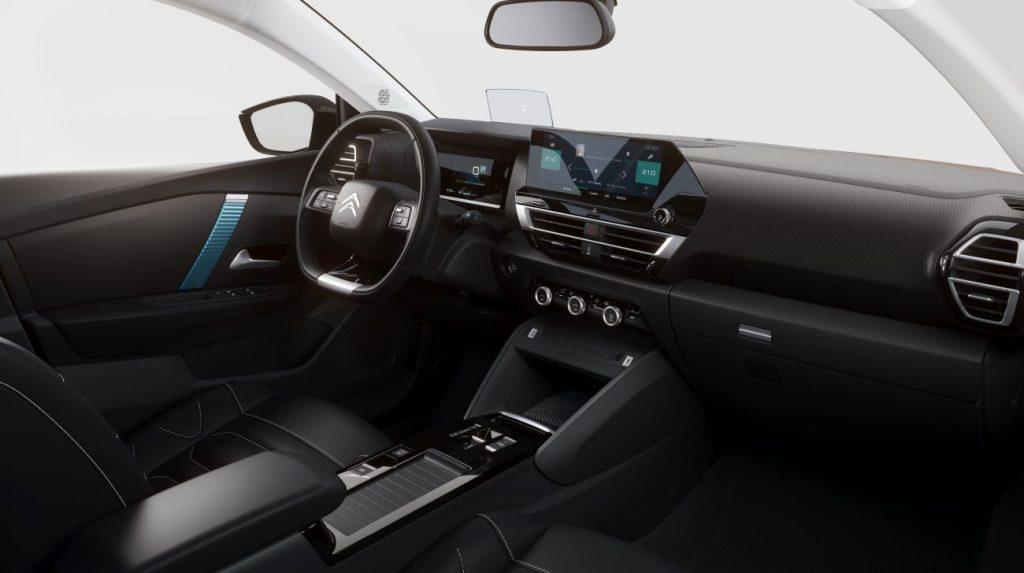 Citroën ë-C4 interieur