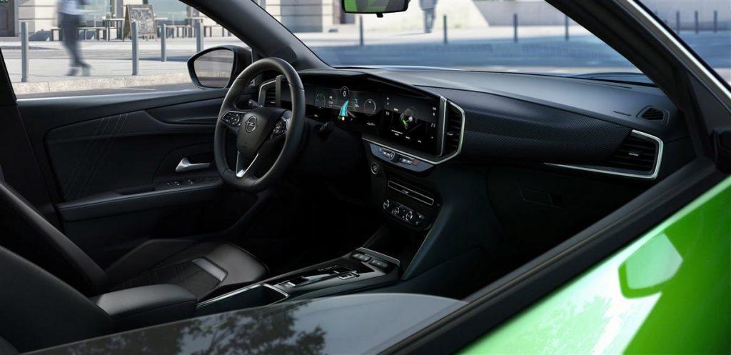 Dashboard Opel Mokka