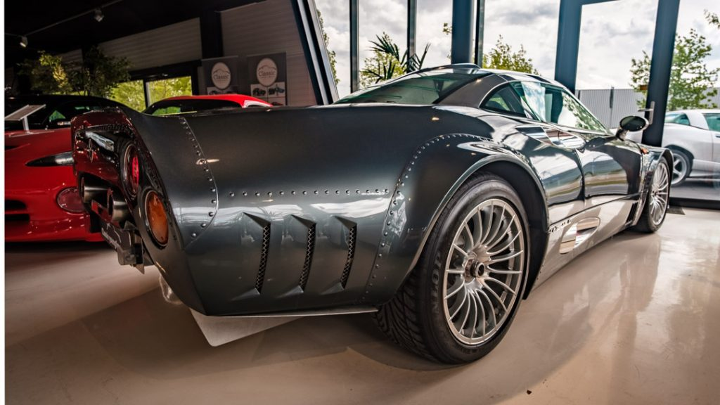 Spyker C8 Double 12S BMW V8