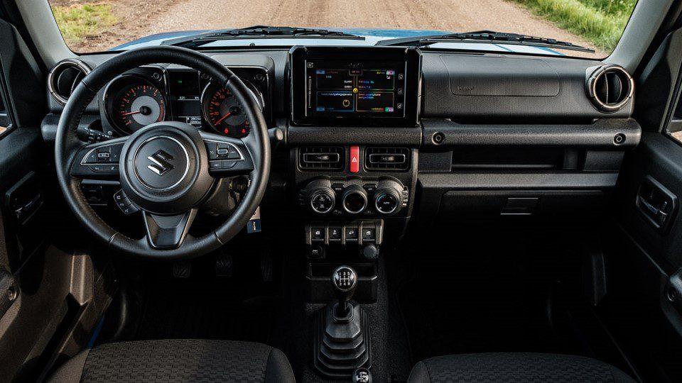 Suzuki Jimny interieur