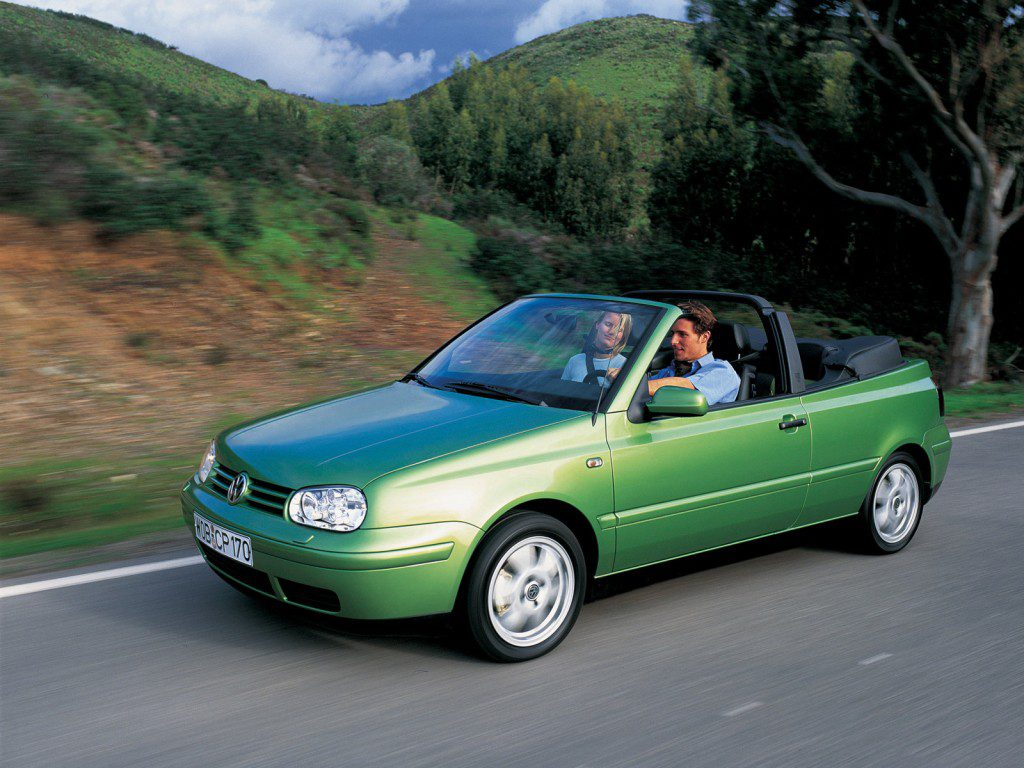 vakantieauto cabrio Volkswagen Golf