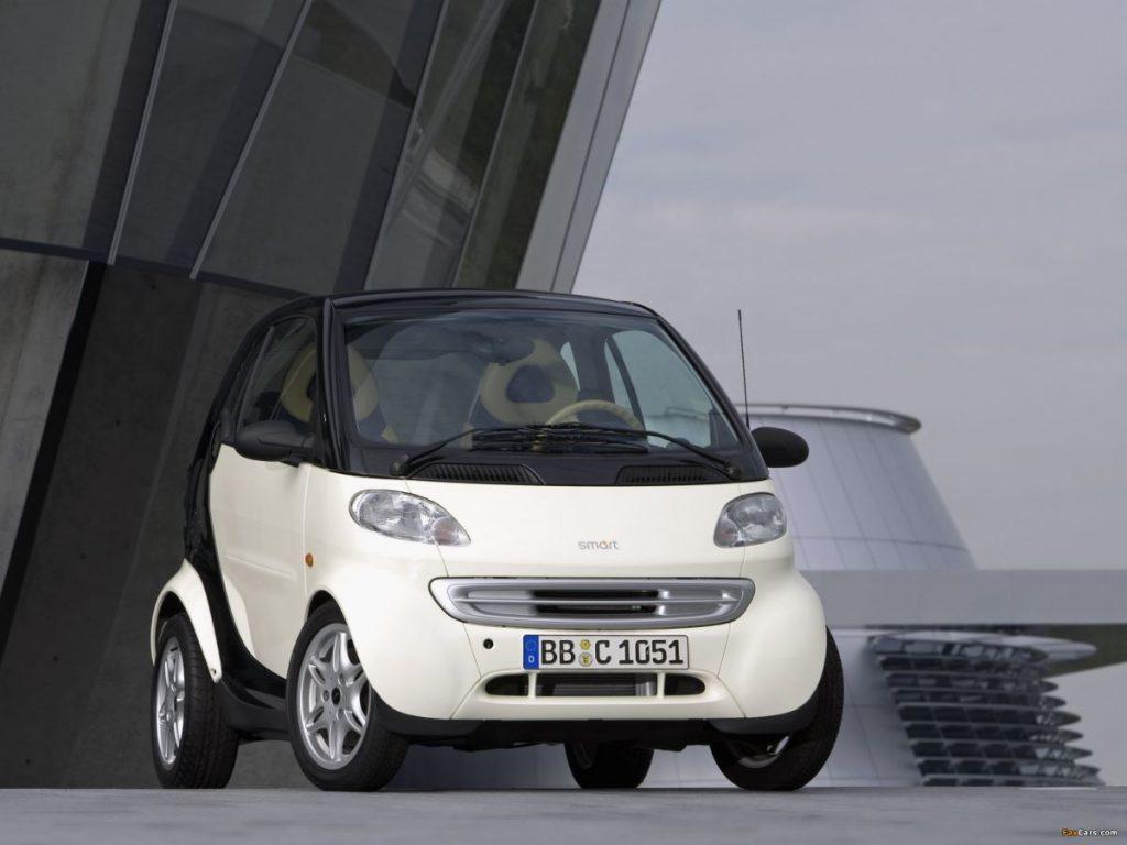 vakantieauto Smart City Coupe