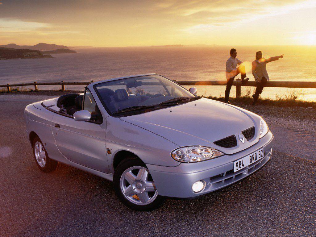 vakantieauto cabrio Renault Megane
