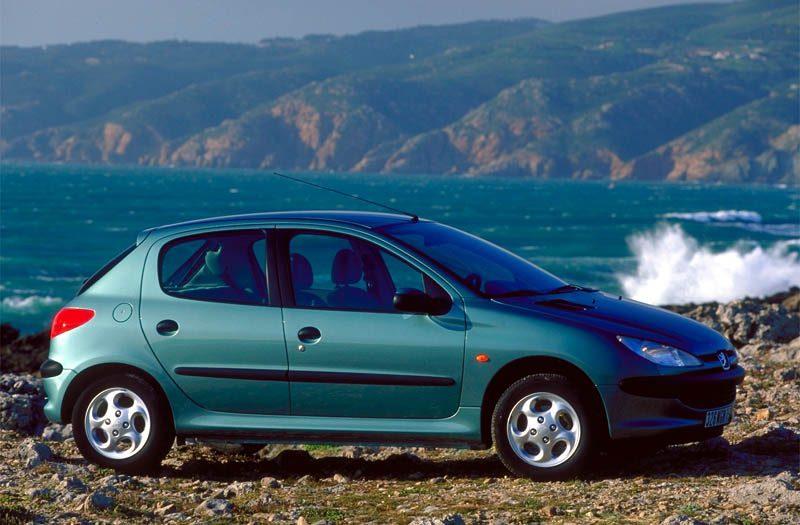 vakantieauto Peugeot 206