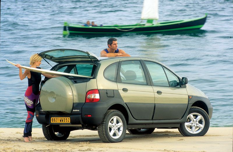 Goedkope vakantieauto MPV 6 Renault Scenic RX4 MPV