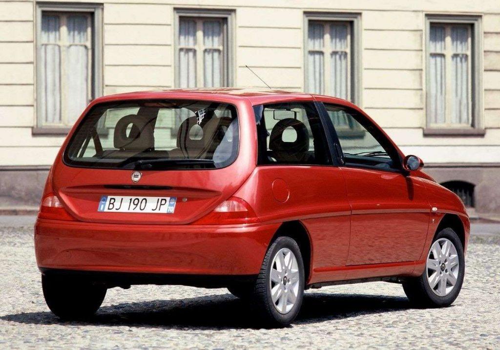 vakantieauto Lancia Ypsilon