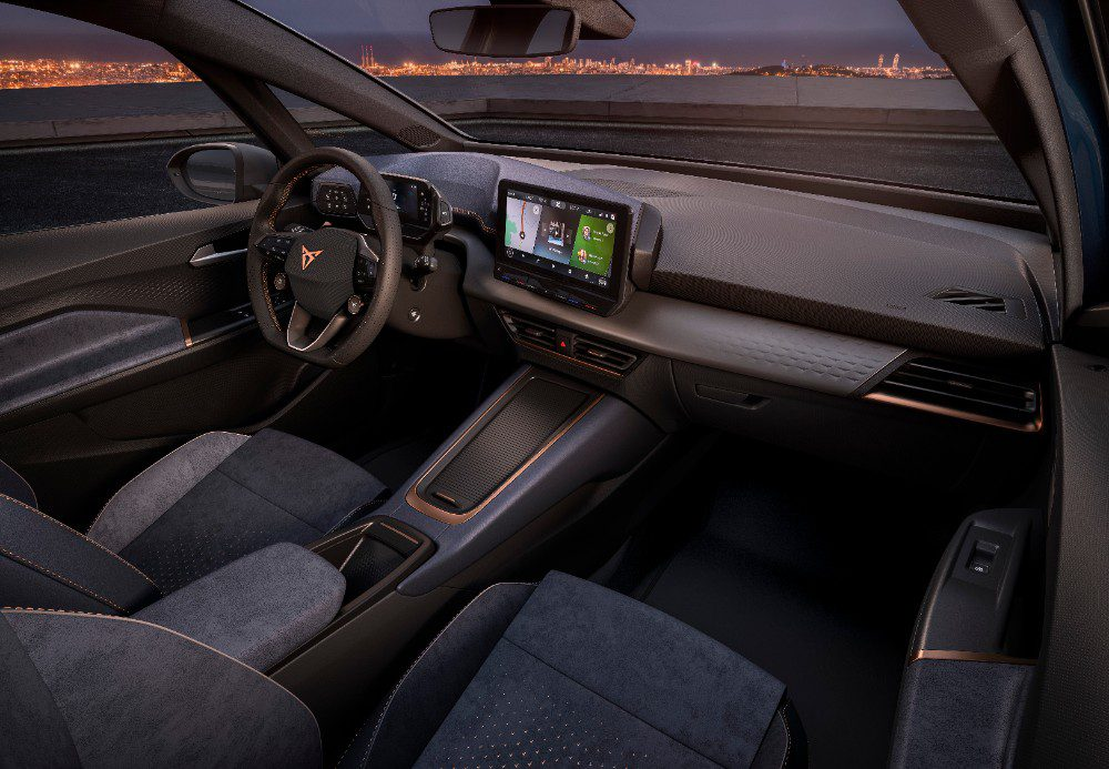 Cupra el-Born interieur
