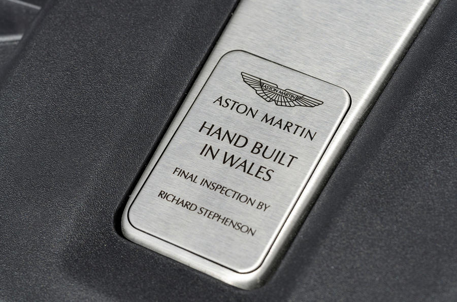 Aston martin DBX hand built