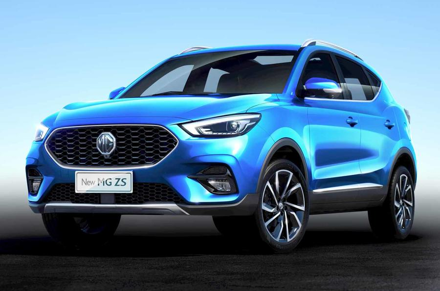 MG ZS 2020 Battersea Blue