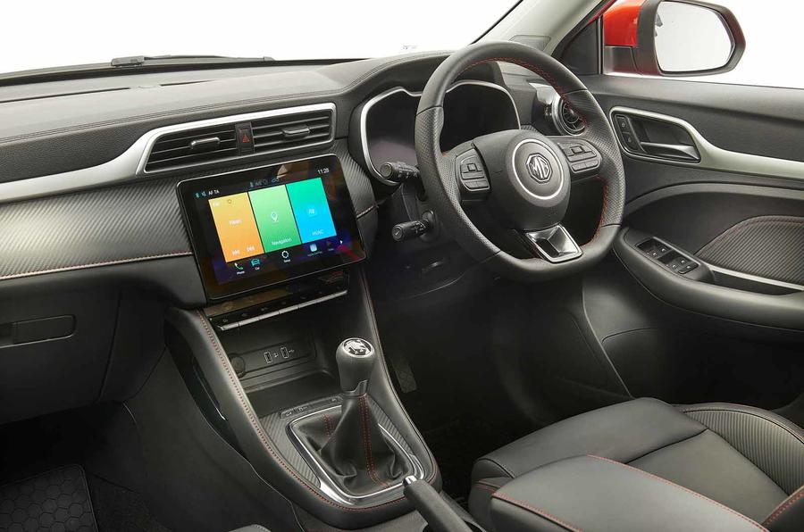 interieur MG ZS 2020