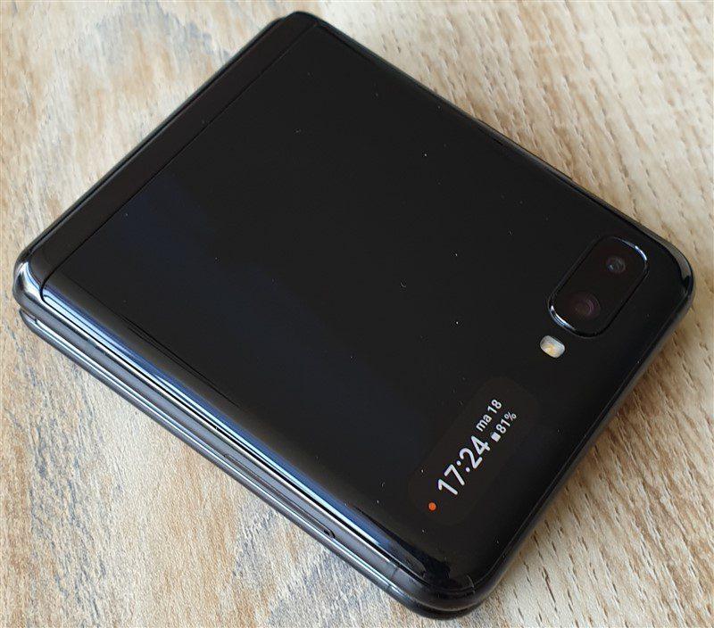 Samsung Galaxy Z Flip dichtgeklapt