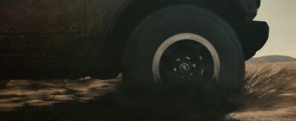 Ford Bronco spyshot wheel