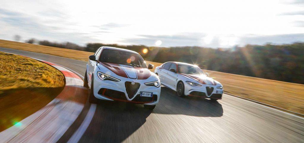 Alfa Romeo Stelvio Racing gestolen