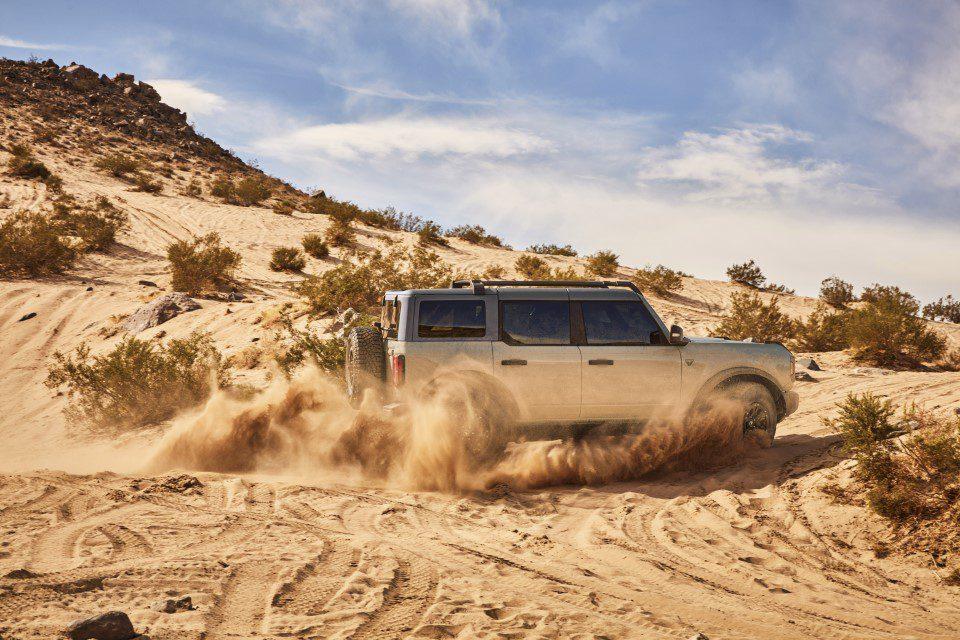 Ford Bronco vierdeurs