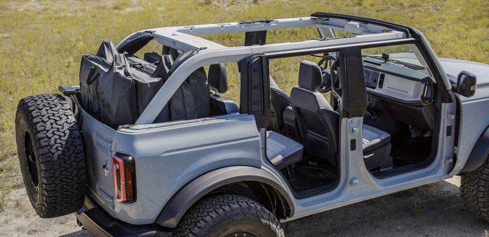 Ford Bronco uitneembare deuren