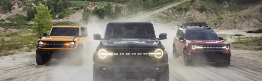 Hybride Ford Bronco naar Nederland
