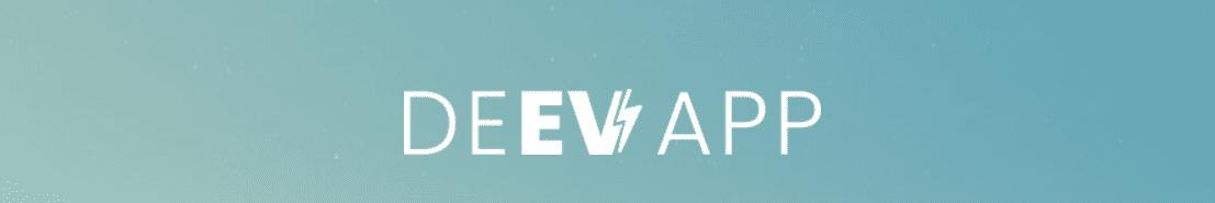 De nieuwe EV app