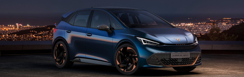 De Cupra el-Born is de eerste elektrische auto van het merk