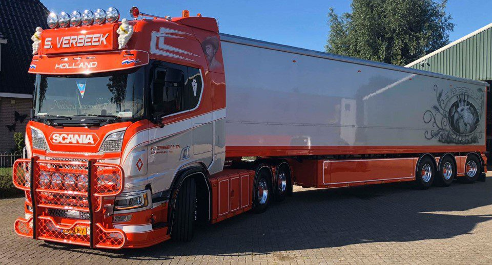 Mooiste truck van Nederland 2020