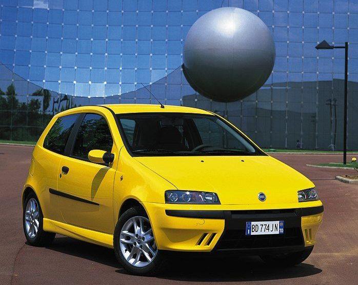 Vakantieauto 5: Fiat Punto HGT Rijdersauto