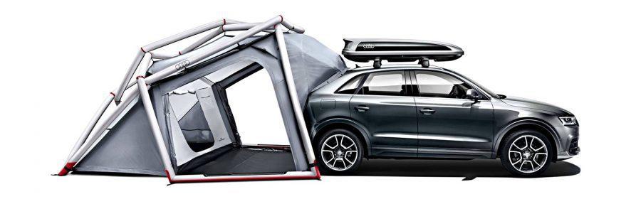Audi opblaasbare tent