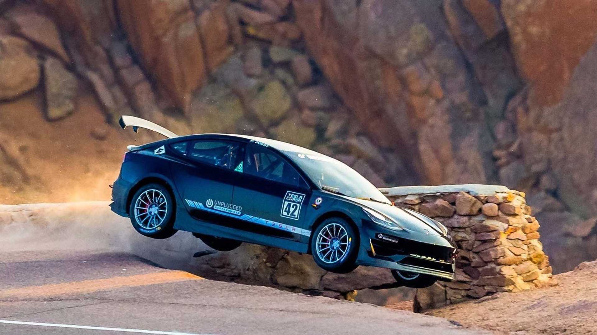 Tesla Model 3 Pikes Peak