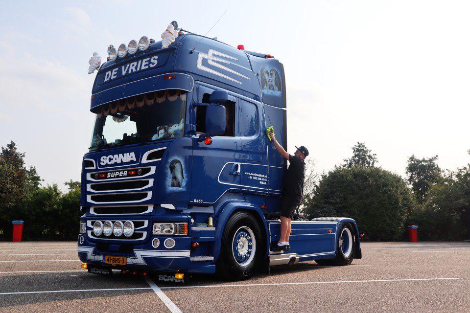 Scania De Vries Truckshow Harskamp