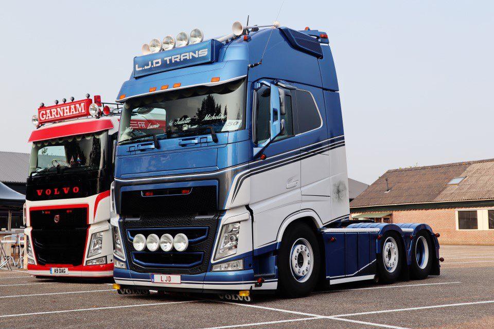 Volvo FH LJD Truckshow Harskamp