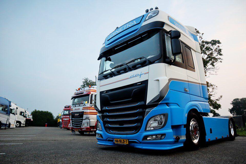 DAF Dinetra Truckshow Harskamp