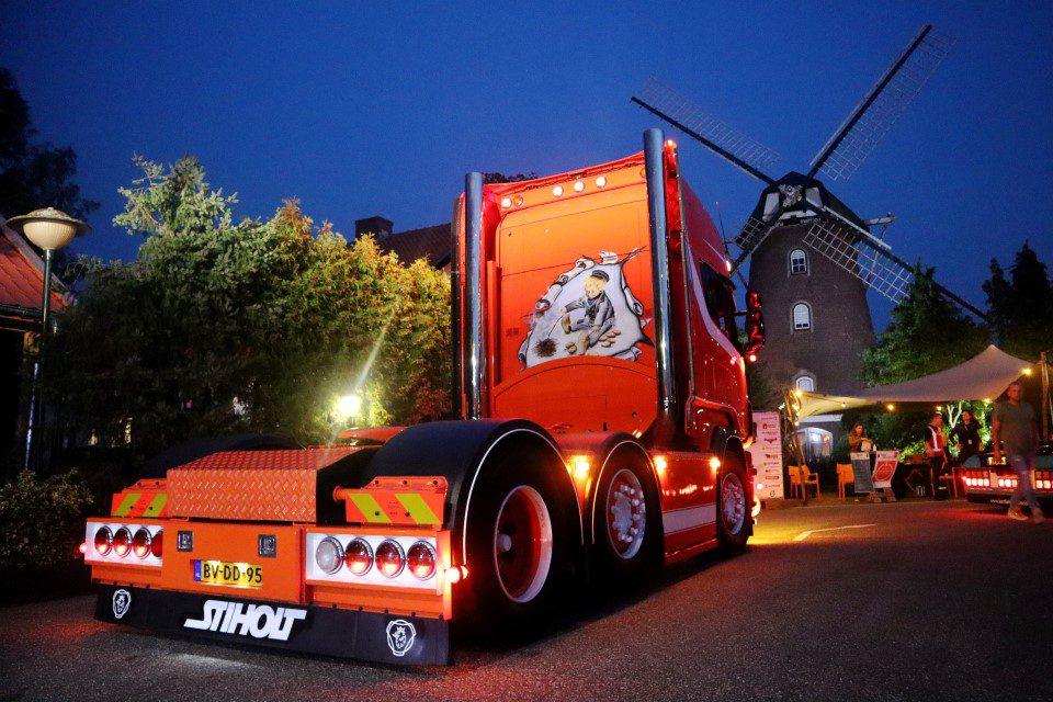 Truckshow Harskamp Kleinjan