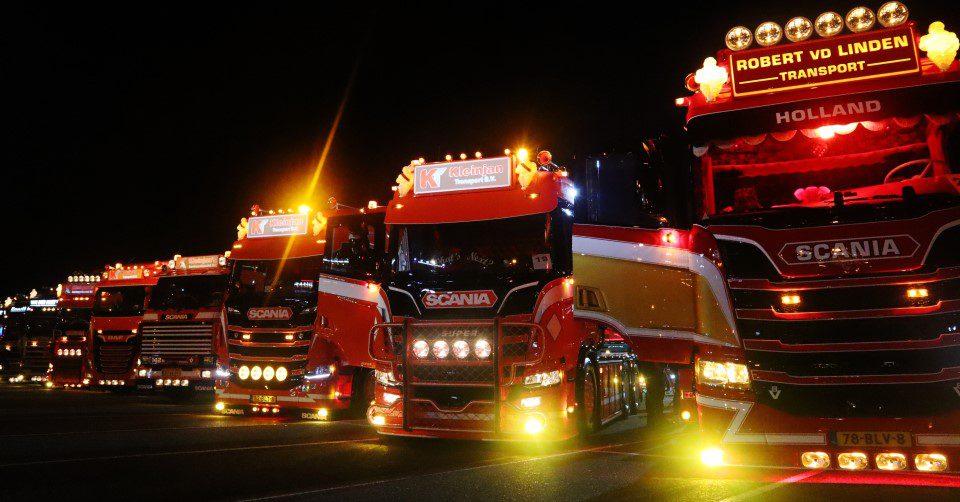 Lichtshow Truckshow Harskamp