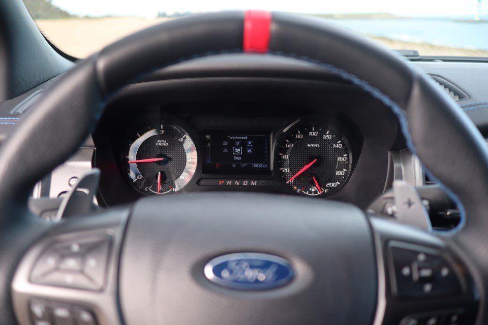 Ford Ranger Raptor rijmodi