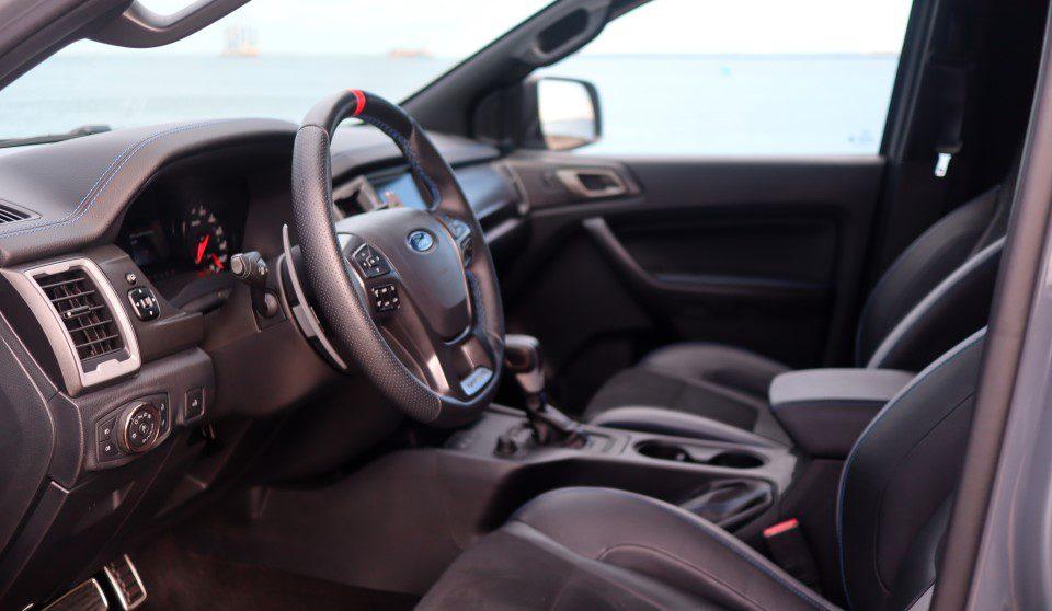 Ford Ranger Raptor interieur
