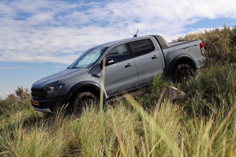 Rijtest Ford Ranger Raptor