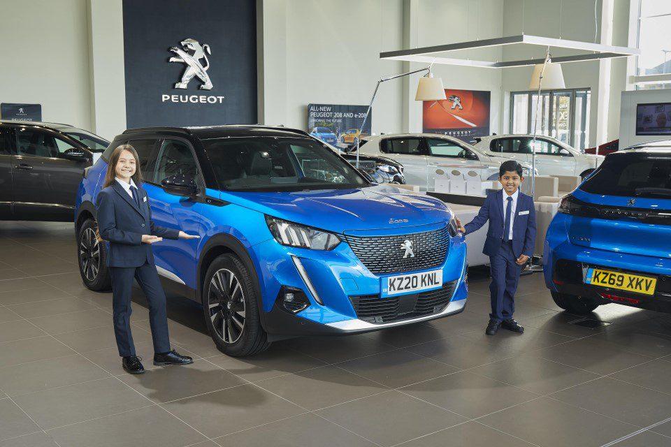Peugeot elektrisch rijden kinderen