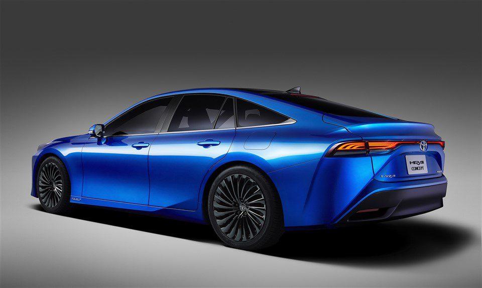 waterstof elektrische Toyota 2021 Toyota Mirai prijs