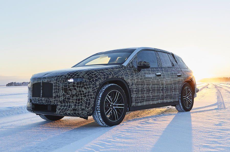BMW iNext productie