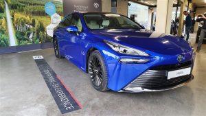 Prijs nieuwe Toyota Mirai