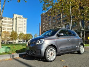 rijtest Renault Twingo Electric