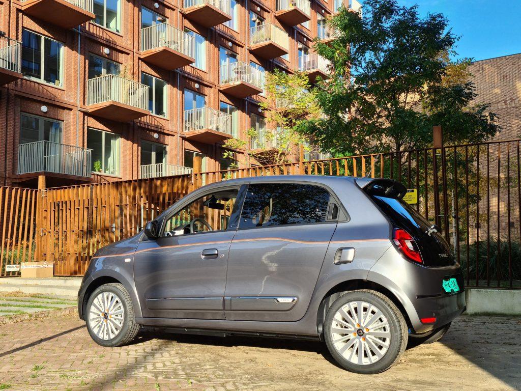 Renault Twingo Electric rijtest