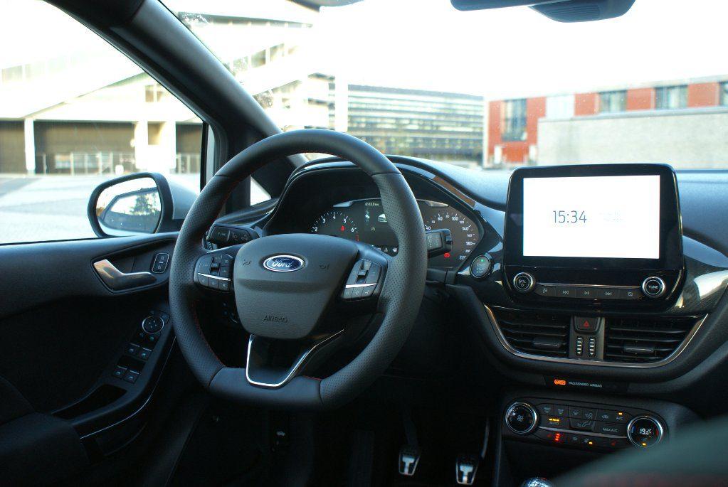 Fiesta ST-Line X Hybride interieur