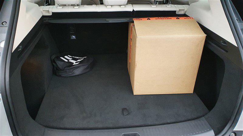 rijtest Aiways U5 432 liter bagageruimte