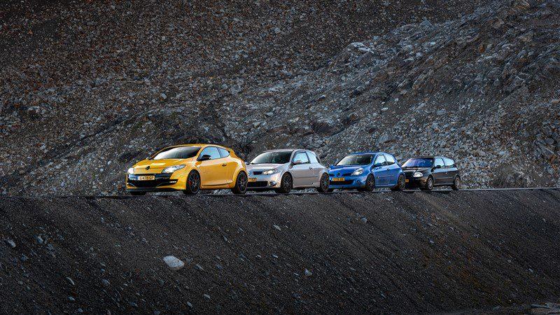 sportieve auto's met Michelin banden